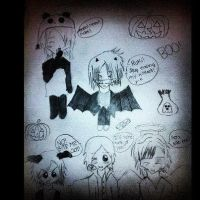GAZEHALLOWEEN!!! XDDD by ShimmeringAngel24