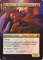 Niz-Mizzet, the Firemind alter by MimiMunster