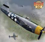 P-47 by Rock-A-Fire