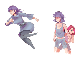 Humanized Maud by SunnyQ