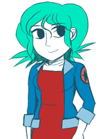 Ramona Flowers by JaredHedgehog
