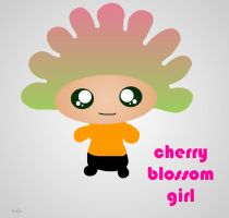 Mi cherry blossom girl by Lazlo-Moholy
