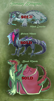 Swamp Dragons, Offer to adopt -CLOSED- by Kiibie-Adopt