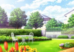 Clannad Summer Garden Clean by night-wolf23