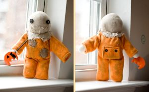 Sam Plush - Front and Back by suzannahashley