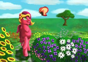 A Passion for Flowers by Hawkheart11
