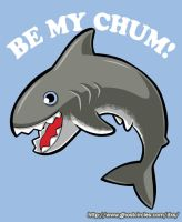 Be My Chum Shirt on SALE today by amegoddess