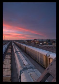 Down by the Tracks by wyorev
