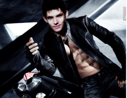 Sexy Colin Morgan by HellKobra