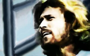 Bee Gees - Barry Gibb by PakPolaris