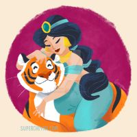 Jasmine and Raja by supercheyne