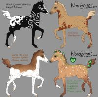 Foal designs for BRR-LVS-Nordanner by saphiraly
