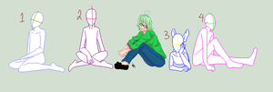 Sitting on the ground is FUN by RabbitLuver21