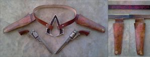 Assassin's Creed Wild West Gunslinger Belt by RebelATS
