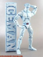 Marvel Vs Capcom Iceman by KyleRobinsonCustoms