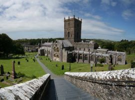 Saint David Cathedral Wales by nectar666