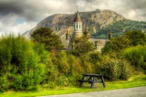 Llanfairfechan Towers by Mitch1969