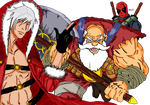 Marvel VS Capcom - Let's save fucking Christmas by Snakethoot