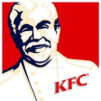 KFC stalin by jamesconnors