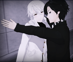 [Mystic Messenger MMD] Kabedon Pose DL by holyprussia
