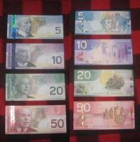 Canada's common Banknotes by MichaelMiyamoto