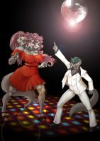 Disco Cerberus by KrazyKrow