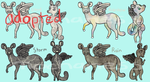 Tancel Adopts: Weather (open 3/4) by MochaNess
