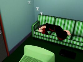 Severus was asleep by Lucius007