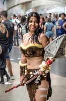 Nidalee - League of Legends by Rafael-Alysson