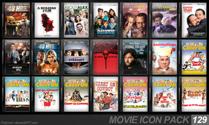 Movie Icon Pack 129 by FirstLine1