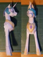Princess Celestia prototype 2 by muffinshire