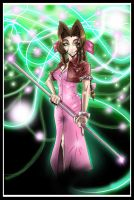 aeris and the life stream by zhane00