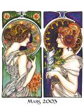 Mucha Twins by Lilith413