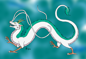 Haku Fanart by LadySpook