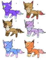 Kitty adopts 3 by Icey-adopts