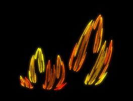 Jets of Flame by pbjplatypus