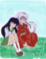 Inuyasha fan art by shard20