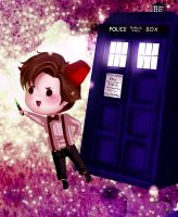 Doctor Who by Ayaselandia