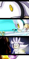 Sonic Comic Drama: SonicUniverse#28 - Extra Scenes by darkspeeds