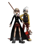 Soul Eater:BR: Maka and Soul by iK1L73r