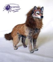The Wolf - ArtDoll by Escaron