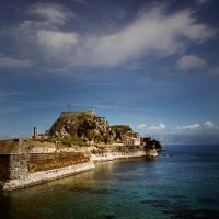 the Corfu fortress.... by VaggelisFragiadakis