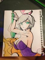 Battle Bunny Riven: LoL by xInsomnea