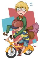 Ness n Jeff by Loopy-Lupe