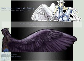 journal skin by omtay