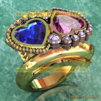 3D Heart bypass ring 2 by BrotherlyFluff