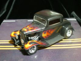 1932 Ford Coupe' Hot Rod by SurfTiki