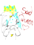 Sad Queen by PinkblazeExtraArt