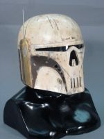 Mandalorian Executioner helmet by lonewolf1183