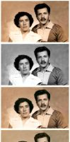 Mis Abuelitos by Decobatta